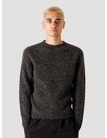 Norse Projects Norse Projects Birnir Brushed Lambswool Knitted Sweater Charcoal Melange N45-0423-1034