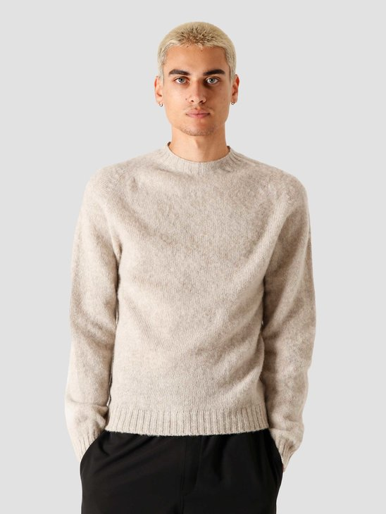Norse Projects Birnir Brushed Lambswool Knitted Sweater Oatmeal N45-0423-2064
