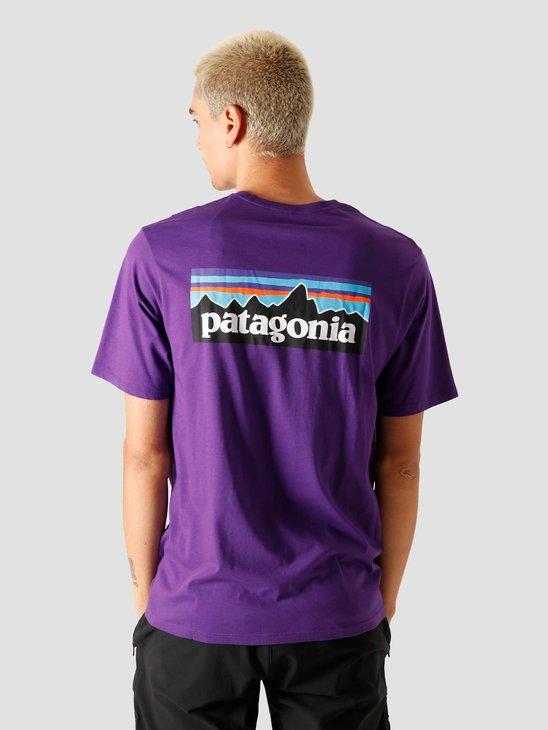 Patagonia M's P-6 Logo T-Shirt Purple 38535