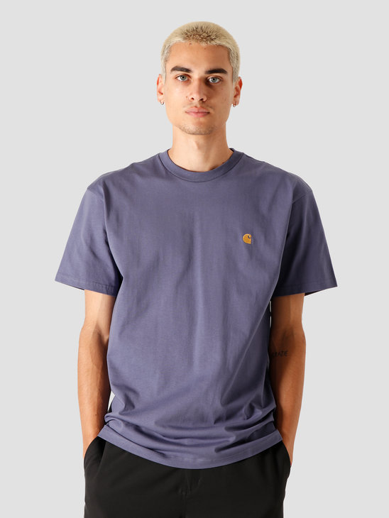 Carhartt WIP Chase T-Shirt Cold Viola Gold I026391-0F190