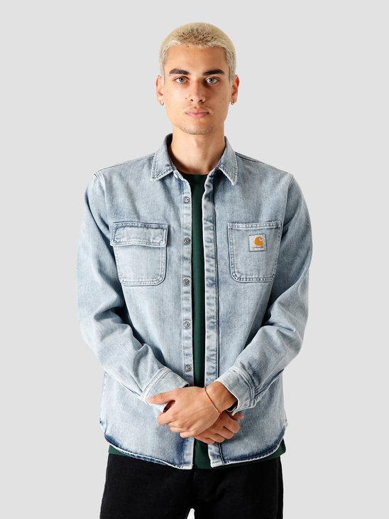 Carhartt WIP Salinac Shirt Jac Blue I027545-01WI