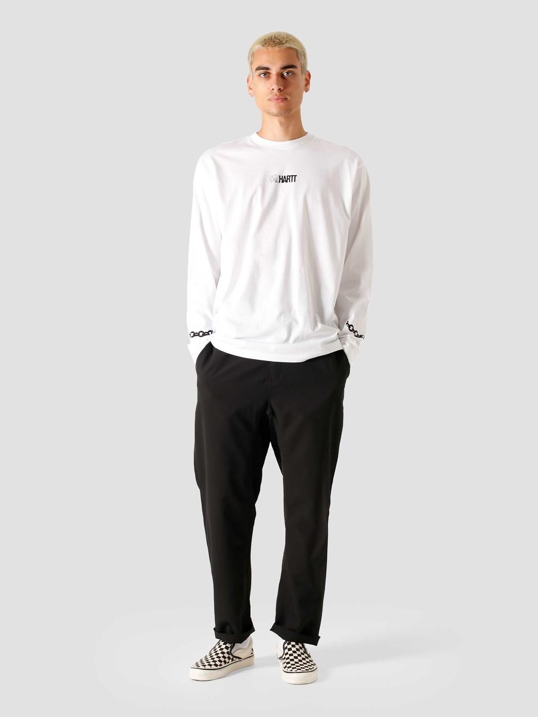 Carhartt WIP Carhartt WIP Longsleeve Twisted Truth T-Shirt White I028501-200