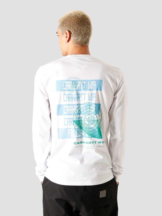 Carhartt WIP U Longsleeve Remix T-Shirt White I028487-200