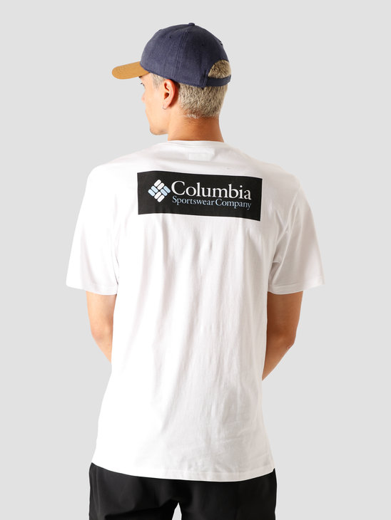 Columbia North Cascades Short Sleeve Tee White 1834041100