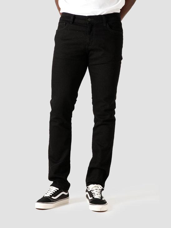 Carhartt WIP Rebel Pant Rinsed Black I024947-8902