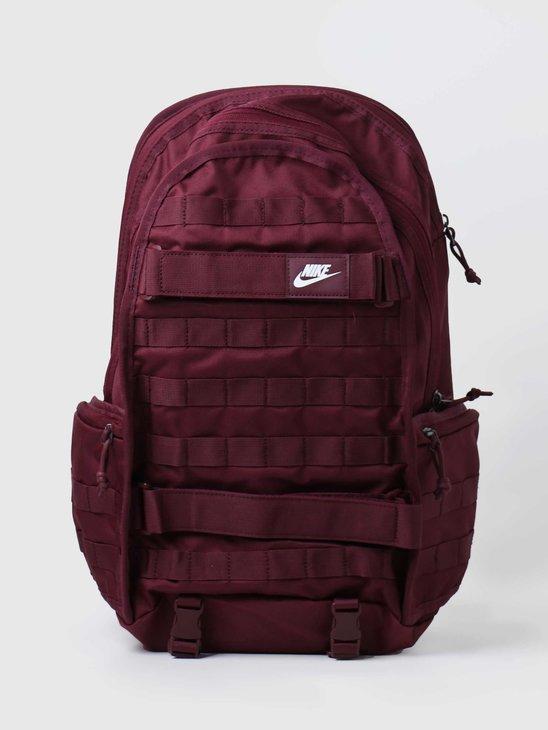 Nike RPM Backpack - NSW Night Maroon Night Maroon White BA5971-681
