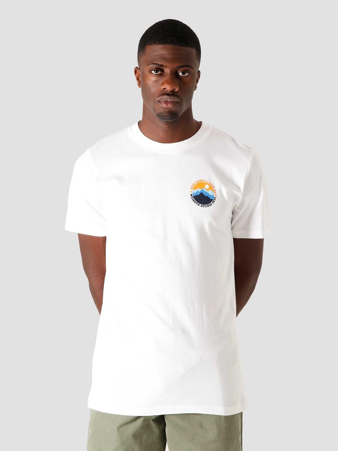 Wemoto Wemoto Mountain T-Shirt White 161.140-200