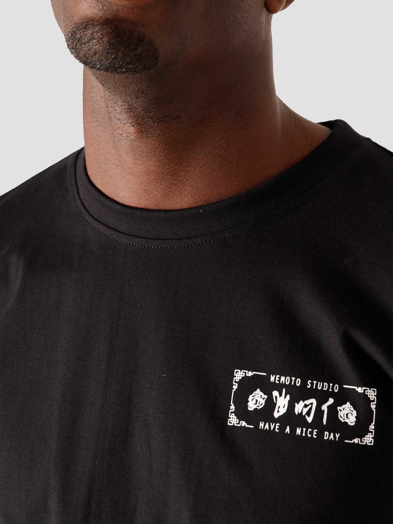 Wemoto Wemoto Bill T-Shirt Black 161.135-100