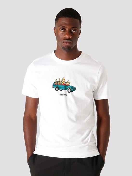 Wemoto Burn T-Shirt White 161.125-200