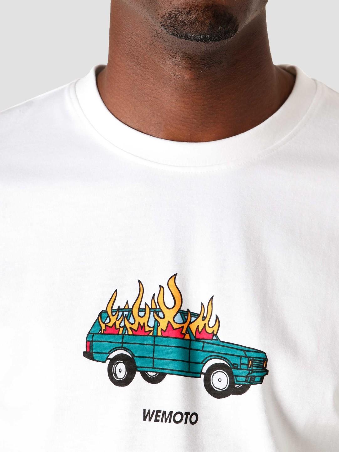 Wemoto Wemoto Burn T-Shirt White 161.125-200