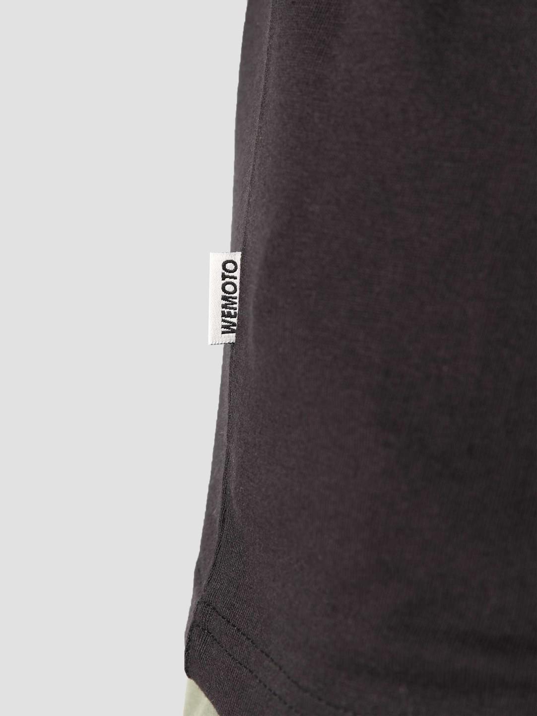 Wemoto Wemoto Fine T-Shirt Black 161.123-100