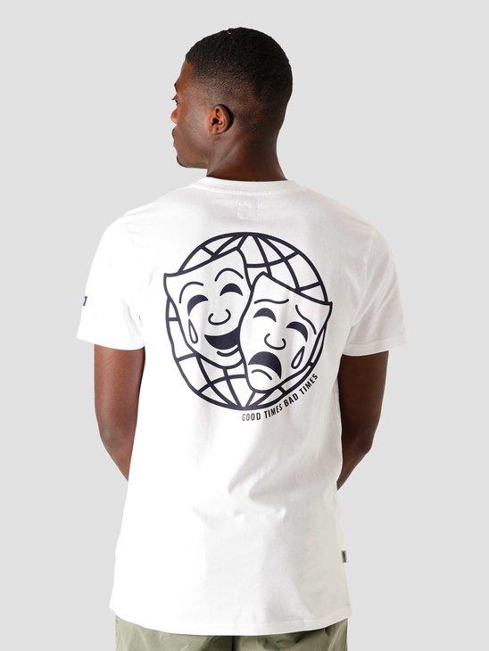 Wemoto Faces T-Shirt White 161.147-200