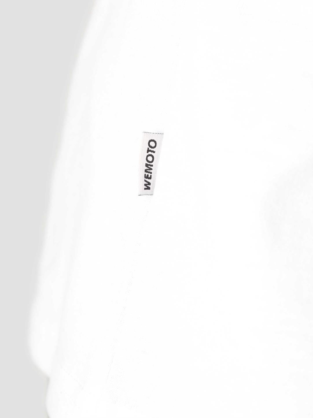 Wemoto Wemoto Faces T-Shirt White 161.147-200