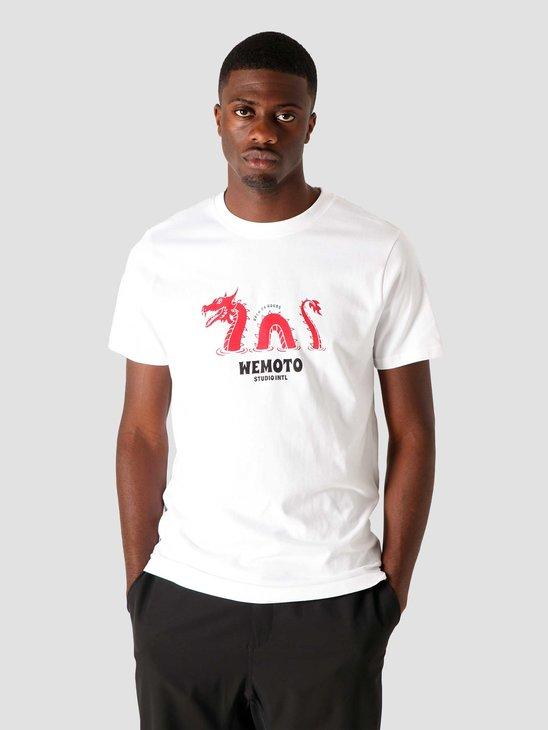 Wemoto Dragon T-Shirt White 161.132-200