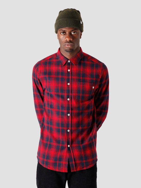 Wemoto Castle Shirt Red 161.313-500