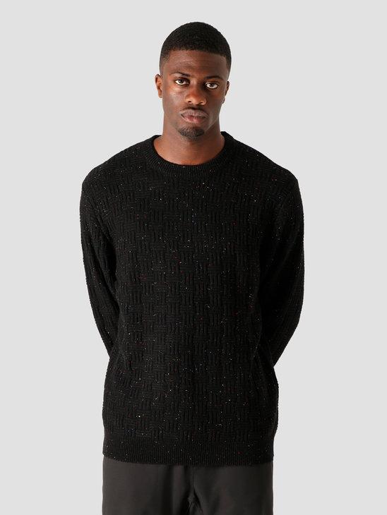 Wemoto Daire Knitted Sweater Black Nep 161.501-109