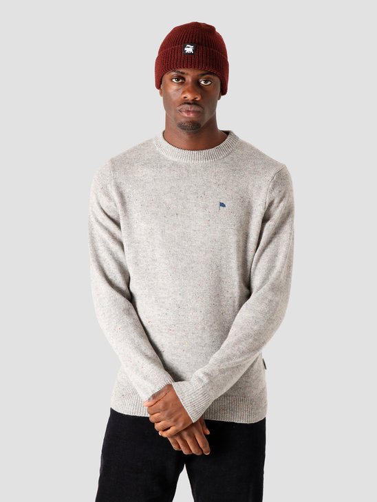 Wemoto Norman Knitted Sweater Heather Nep 161.506-326