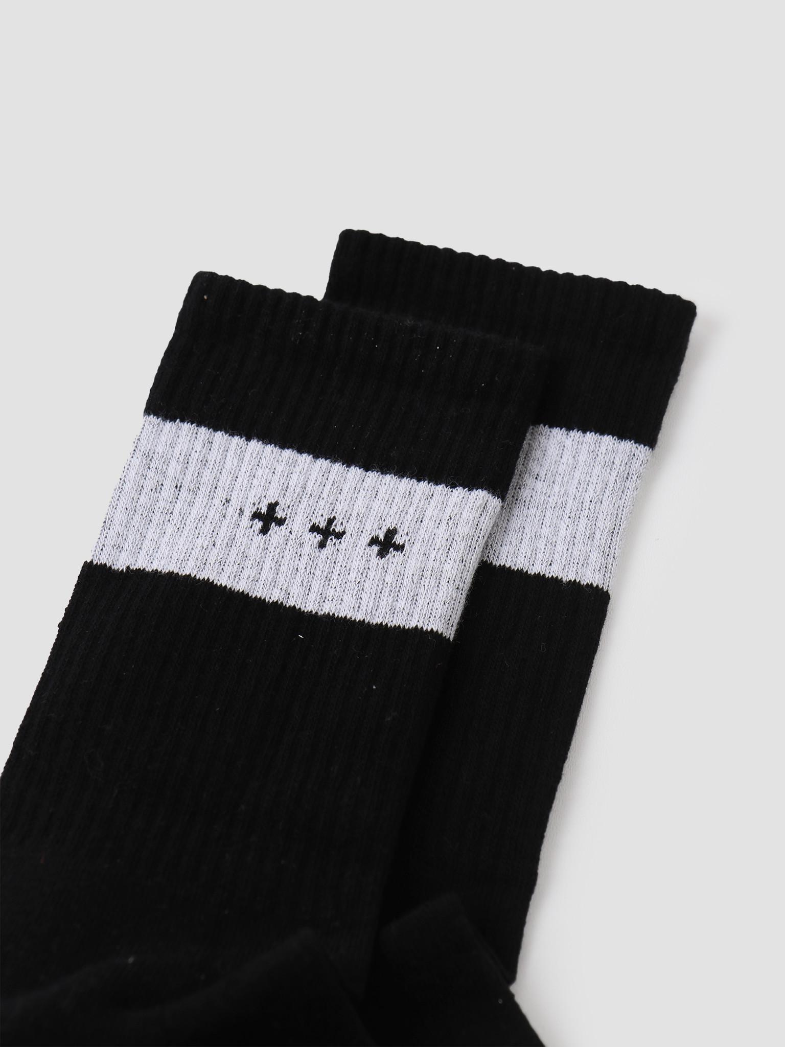 Quality Blanks Quality Blanks 3-Pack QB13 Socks Black Salmon Lilac