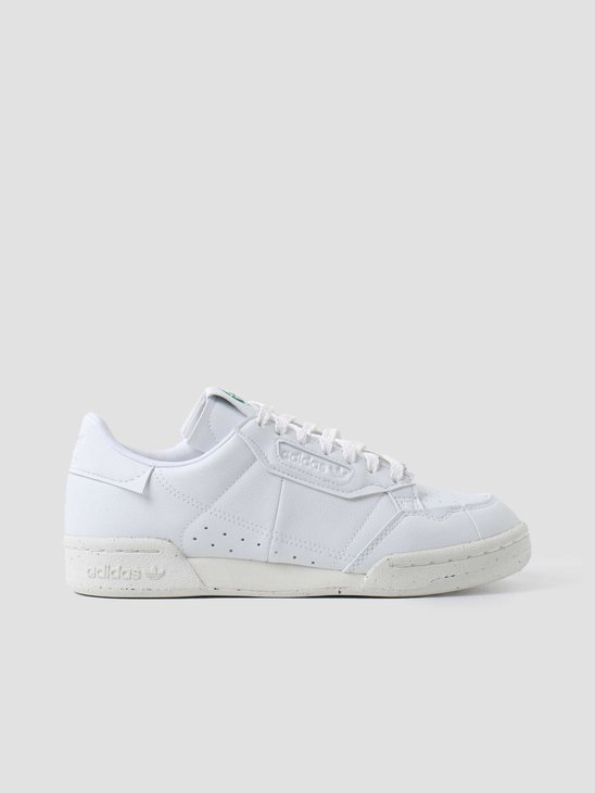 adidas U Continental 80 Footwear White Off-White Green FV8468
