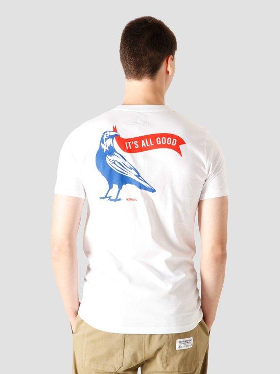 Wemoto Raven T-Shirt White 161.137-200