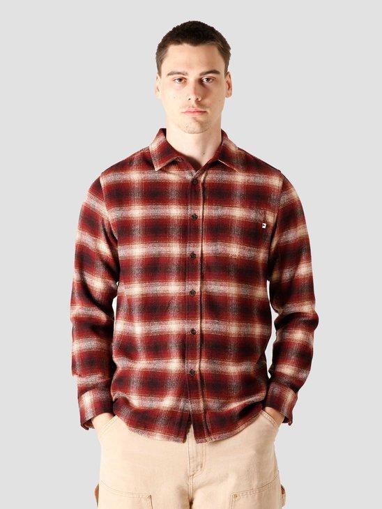Wemoto Upton Shirt Burgundy 161.302-501