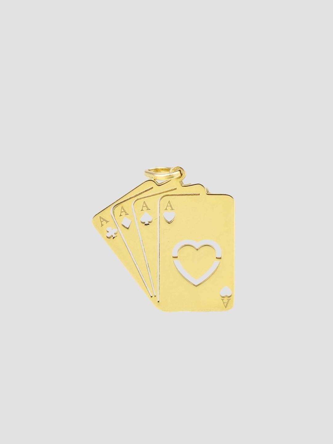 Golia Golia Ace Pendant Gold