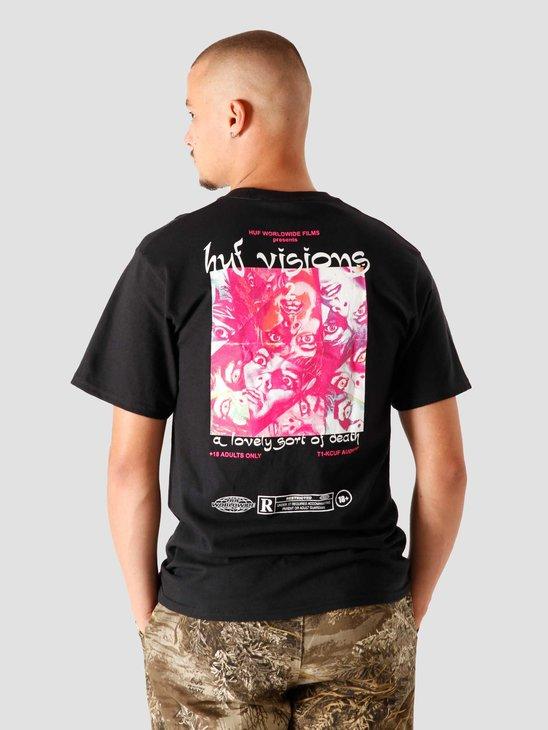 HUF Lovely Sort T-Shirt Black TS01200-BLACK