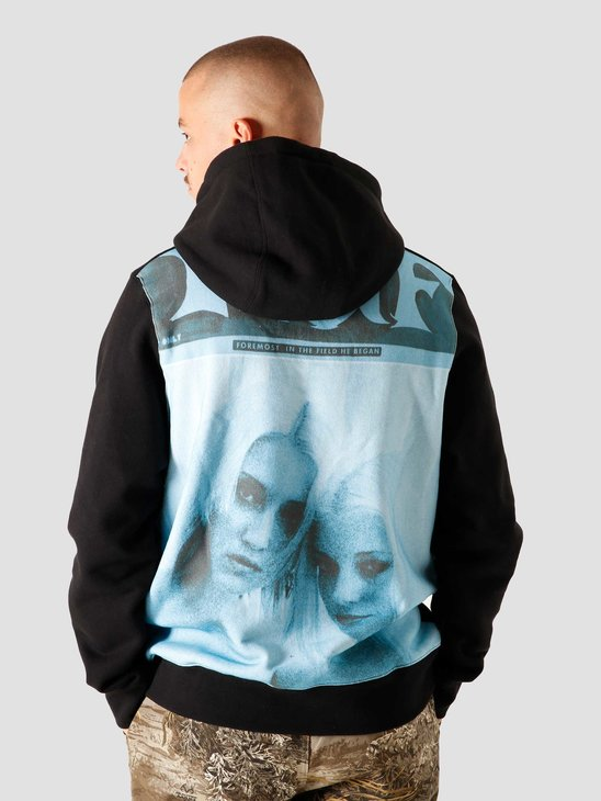 HUF Vivid Pullover Fleece Black FL00128-BLACK