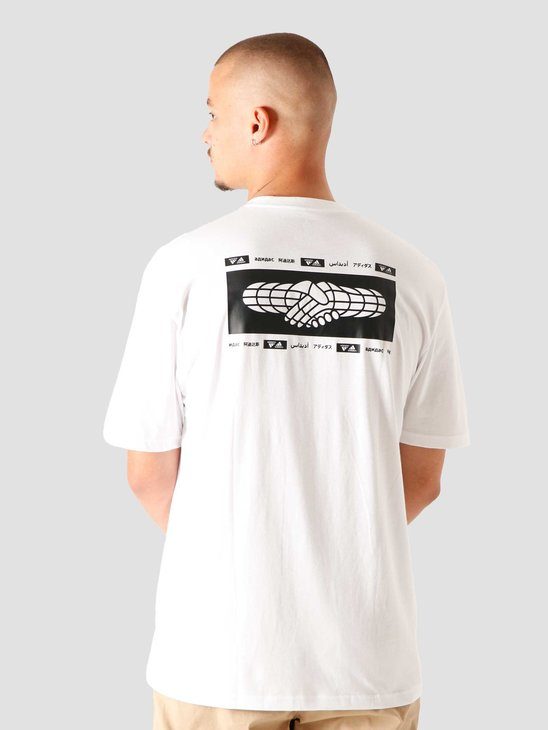 adidas One Team T-Shirt White GE5511