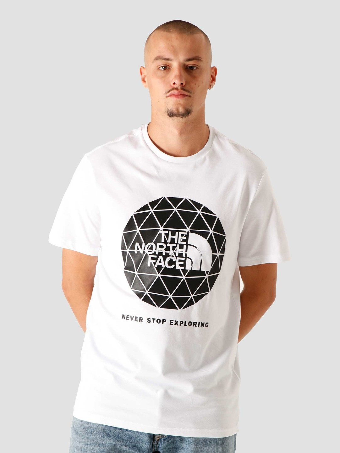 The North Face The North Face Geodome T-Shirt White NF0A4M7YFN4