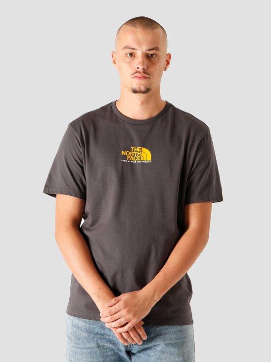 The North Face Fine Alpine Equipment T-Shirt Asphalt Grey NF0A4SZU0C5