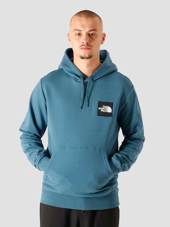 The North Face Blackbox Logo Hoodie Mallard Blue NF0A4SYYQ31