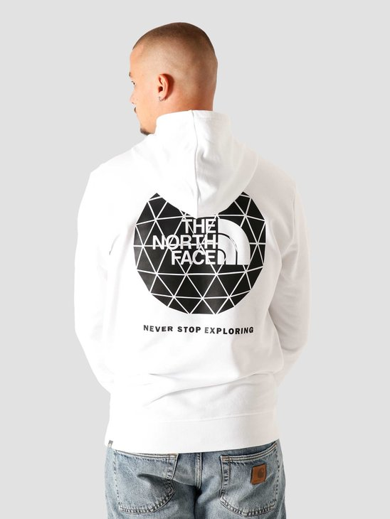 The North Face Geodome Hoodie White NF0A4M82FN4