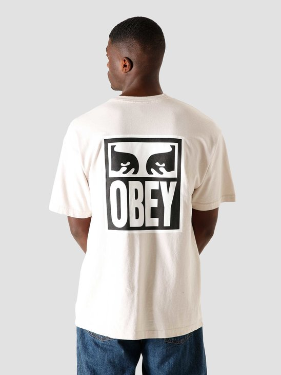 Obey Eyes Icon 2 Heavy Weight T-Shirt Cream 166912142CRM
