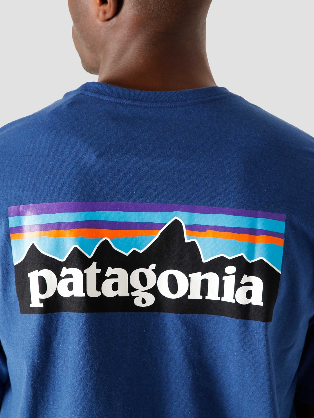 Patagonia Patagonia M's P-6 Logo Responsibili T-Shirt Superior Blue 38504