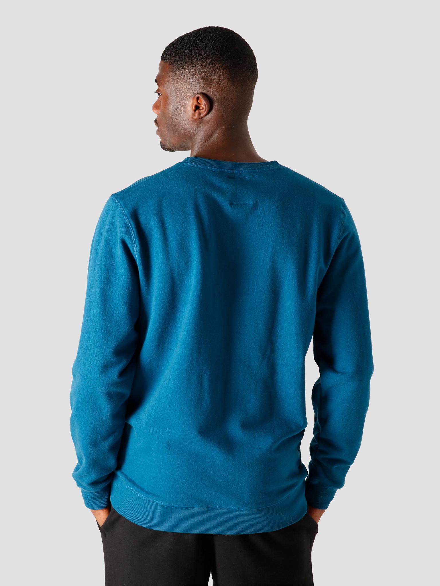 Quality Blanks Quality Blanks QB94 Patch Logo Crewneck Night Blue