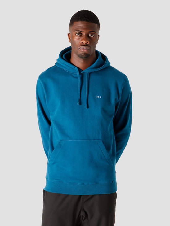 Quality Blanks QB93 Patch Logo Hoodie Night Blue