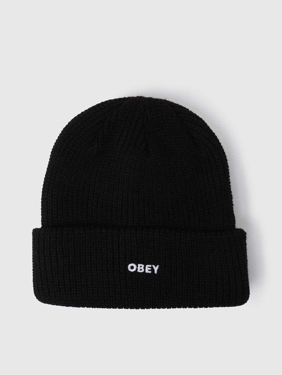 Obey Future Beanie Black 100030163BLK