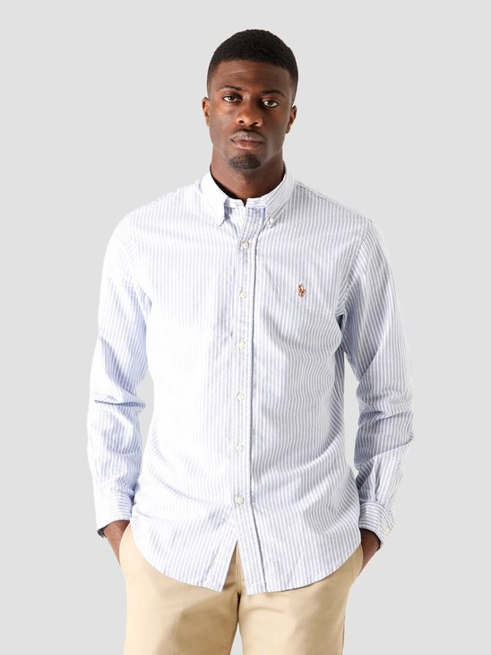Polo Ralph Lauren Sport Shirt 4887 Blue White 710815580001