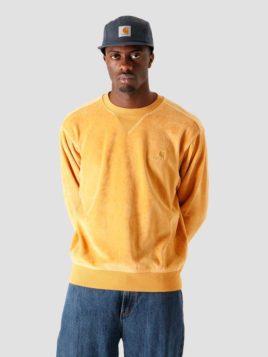 Carhartt WIP United Script Sweat Winter Sun I028275-0G100