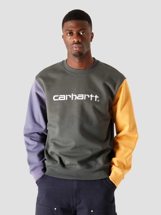 Carhartt WIP Carhartt Tricol Sweat Dark Teal I028274-0F200