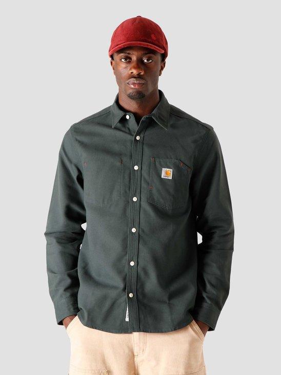 Carhartt WIP Tony Shirt Dark Teal I019762-0F201
