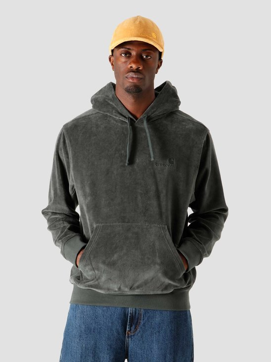 Carhartt WIP Hooded United Script Sweat Dark Teal I028276-0F200