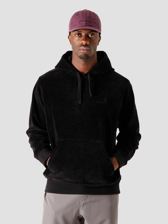 Carhartt WIP Hooded United Script Sweat Black I028276-8900