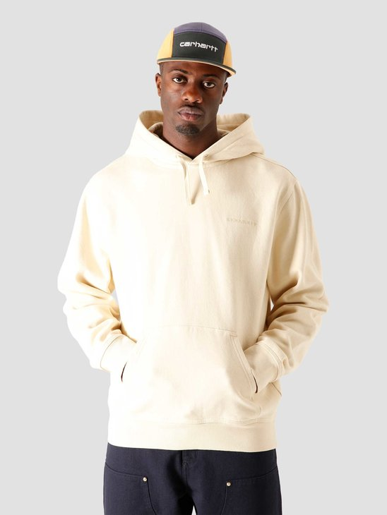 Carhartt WIP Hooded Ashland Sweat Flour I028325-05O00