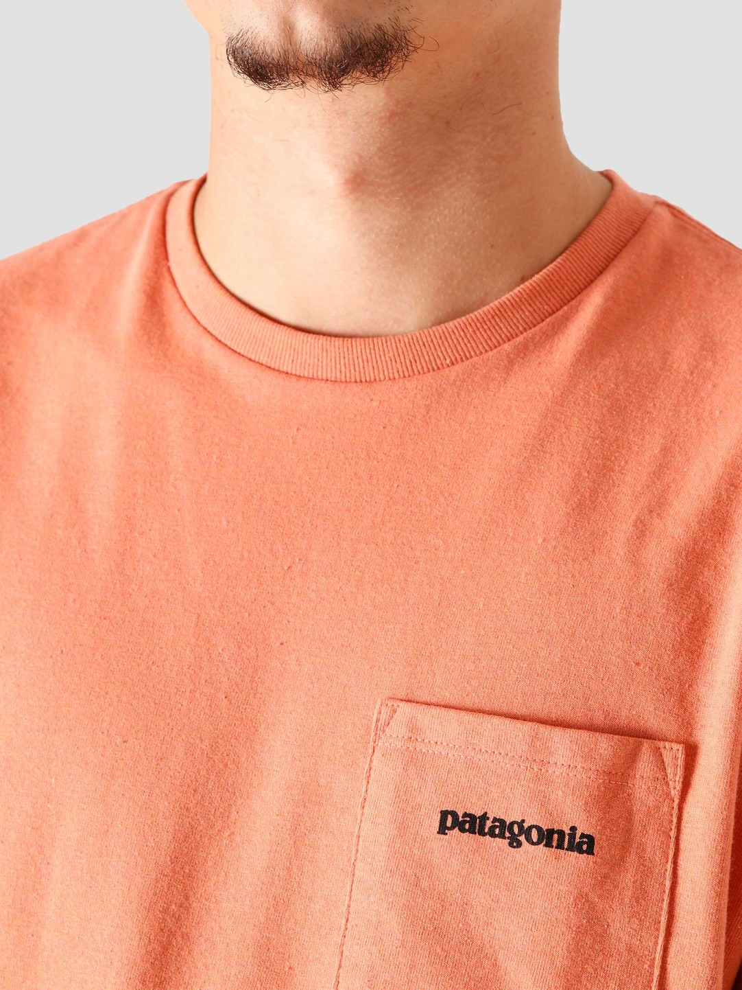 Patagonia Patagonia M's P-6 Logo Pocket Responsibili T-Shirt Mellow Melon 38512