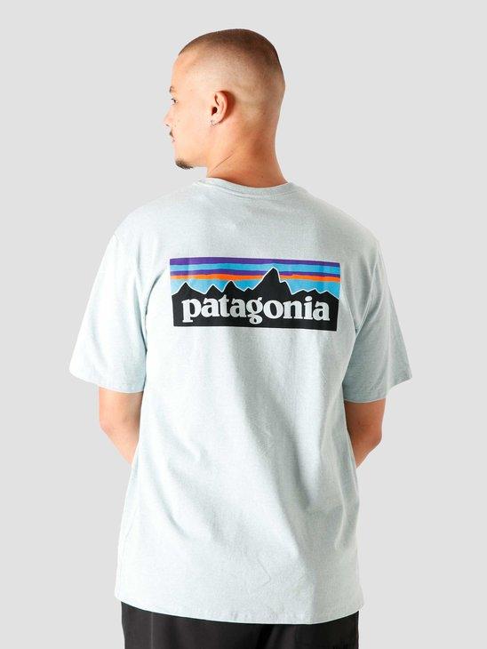 Patagonia M's P-6 Logo Responsibili T-Shirt Big Sky Blue 38504