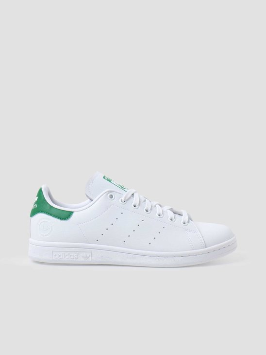 adidas Stan Smith Vegan  White Green White FU9612