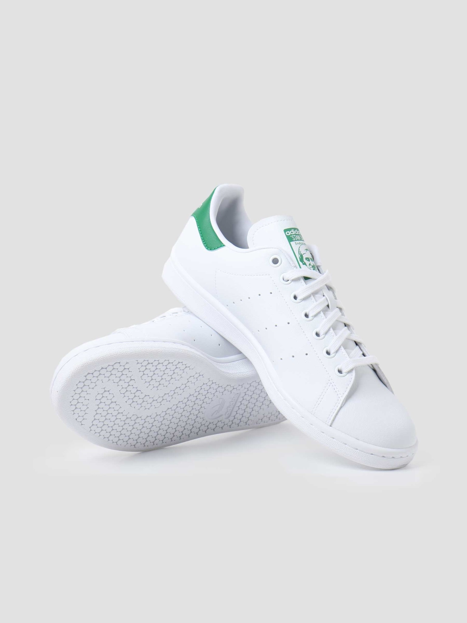 adidas adidas Stan Smith Vegan  White Green White FU9612