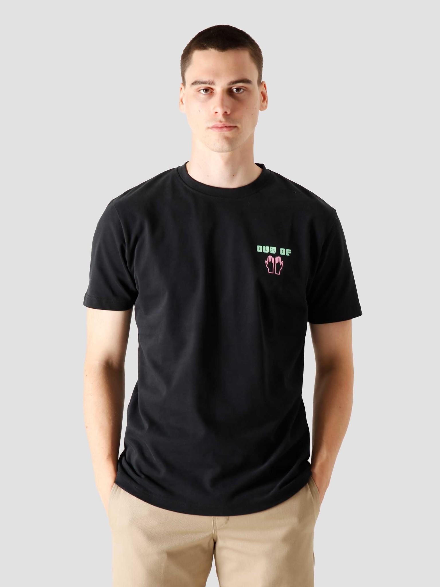 FRESHCOTTON FreshCotton Out Of Hand T-shirt Black